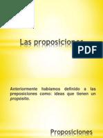 Las Proposiciones