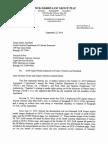 Intersal NCDCR Violations Demand Letter