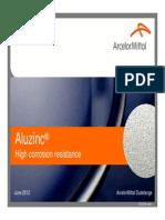 Aluzinc Corrosion Resistance en 2012
