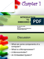 Chapter 1 - Introduction to Embedded System