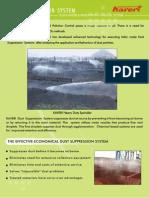 Dust Suppression System - Kaveri