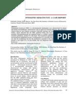 14. INFECTED Odontogenic Keratocyst.20141212075824
