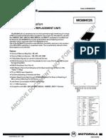 mc68hc25 manual