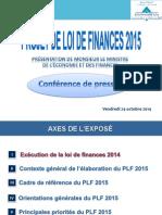 244272701 Projet de Loi de Finances 2015 PDF
