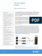 Data Sheet - EMC Backup and Recovery Product Overview