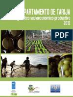 Diagnóstico Socieconómico-productivo Tarija