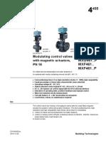 Modulating Control Valves PN16 MXG461 MXF461 10417 Hq En