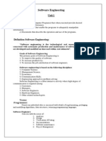Software Engineering Notes_UNIT I