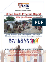 Urban Health Program - 2004 - 2014