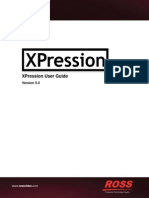 XPression User Guide3500DR 001 5.5