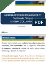 Capacitación Matriz de Evaluación y Gestión de Riesgos 21 08 2014