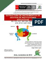 Matrices_instrumentos de Gestion 2013