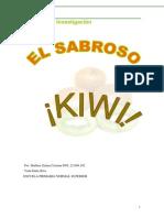 Proyecto de Investigación de Kiwi
