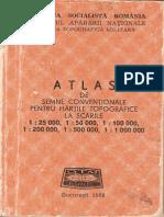 Atlas de Semne Conventionale