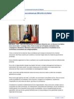 Discours Royal instituant la Commision Consultative de la Régionalisation