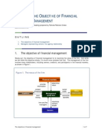 The Objective of Financial Management