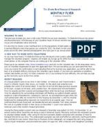 January 2015 Volunteer Newsletter