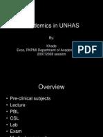 Academics in UNHAS