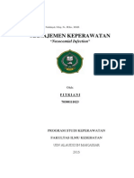 Paper Nosocomial Infection by Fitriani (70300111023)