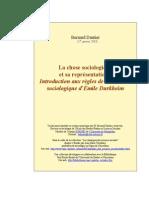 4 Dantier Intr Regles Methode Sociologie de Durkheim