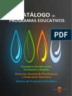 CATLOGO DE PROGRAMAS