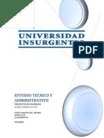 Estudios de inversion