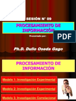 SESION N° 09 - PROCESAMIENTO DE INFORMACION.ppt