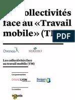 Chronos & Sereho - Les collectivités face au travail mobile (2014)