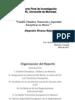 PPT - MRI -Reporte Sobre CC y Transicion Energetica Abril 11