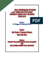 Kertas Kerja KBPM Daerah Hulu Selangor 2013