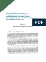 Definición amplia y estricta de Ciencia. Definición de Método, Técniica y metodologías. Marradi Cap. 3.pdf