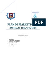 Plan de Marketing Inkafarma