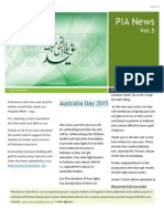 Pakistanis in Australia Vol 5 Issue 1