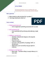 Deterministic+Inventory+Model