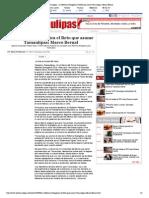 22-11-14 HoyTamaulipas - La Reforma Energética el Reto que asume Tamaulipas_ Marco Bernal