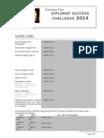 Business Plan DSC 2014 Template