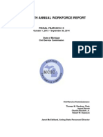THIRTY-FIFTH ANNUAL WORKFORCE REPORT FISCAL YEAR 2013-14 October 1, 2013 – September 30, 2014