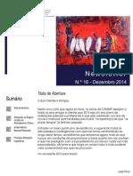 Newsletter CAMMP n.º 16 de Dezembro de 2014