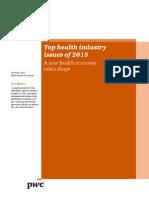 Pwc_δέκα Τάσεις Στον Τομέα Της Υγείας Για Το 2015