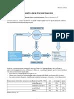 une analyse de la structure financière