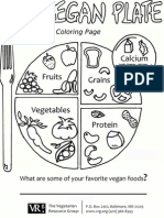 My Vegan Plate (colouring page)