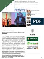 21-11-14 La Reforma Energética el Reto que asume Tamaulipas_ Marco Bernal - Inforio , Noticias de Tamaulipas