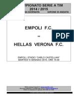 Empoli-Hellas Verona - 17° giornata serie A (1)
