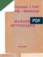 Anarkisme i Bolsevik - Russland Makhno Bevegelsen