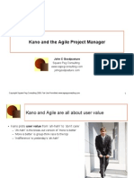 Being Agile With Kano