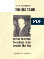 Remembering Spain - Italian Anarchist Volunteers in the Spanish Civil War