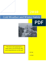 Cold Weather and Winter Safety
