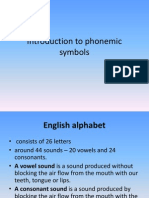 Introduction to Phonemic Symbols