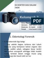 PPT Dental Forensik