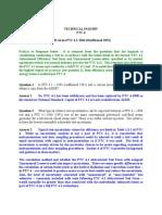 FAQ about PTC 4.1